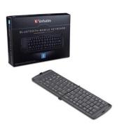 Bluetooth Mobile Folding Keyboard 2, Black