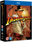 Indiana Jones - The Complete Adventure Collection [Regions 2,4] [Blu-ray]