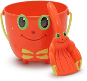 Melissa & Doug - Sunny Patch - Sand Play - Clicker Crab Pail & Shovel