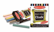Melissa and Doug - Multi-Colour Chalk