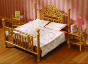Luxury Brass Bed