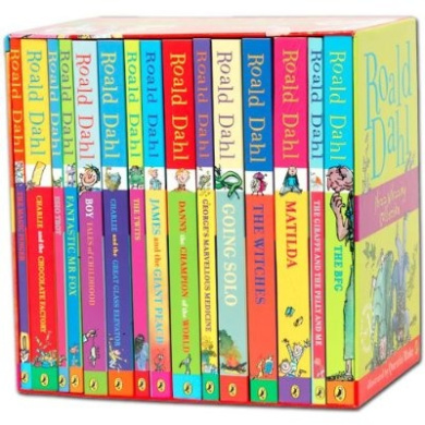 Roald dahl phizz whizzing collection 15 book box set in for Fishpond books