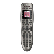 LOGITECH HARMONY 650 REMOTE Colour Screen One-click activity buttons Replace 5 remotes Guided