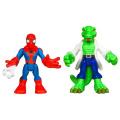 Playskool Heroes Spider-Man Adventures 2-Pack - Spider-Man and Lizard
