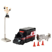 WWE Rumblers Sheamus With Slam-Bulance Slideout Playset