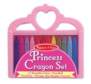 Melissa And Doug Princess Crayon Set