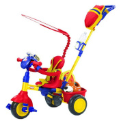 Little Tikes 3-in-1 Trike with Discover Sounds Dashboard - Blue, Red and Yellow