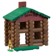 K'NEX Lincoln Logs Classic Edition Building Playset - Frontier Cabin