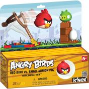 K'nex AngryBirdsRedBirdvsSmallMinionPig Building Set