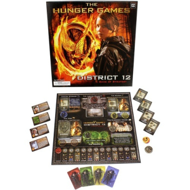 The Hunger Games District 12 Board Game