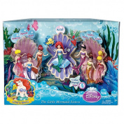 Disney Princess Favourite Moments Mermaid Doll 7-Pack