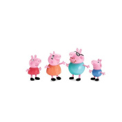 Peppa Pig 4-pack Family Figures