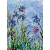 Jigsaw Puzzle 1000 Pieces 49cm x 70cm -Monet - Irises, C. 1918-25