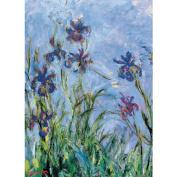 Jigsaw Puzzle 1000 Pieces 49cm x 70cm -Monet - Irises, C. 1918-25