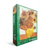 EuroGraphics Twelve Sunflowers by Vincent Van Gogh 1000 Piece Jigsaw Puzzle