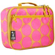Wildkin 33118 Big Dots Hot Pink Lunch Box