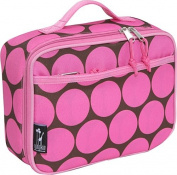 Wildkin 33085 Big Dots - Pink Lunch Box