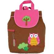 Stephen Joseph Quilted Backpack - Owl