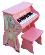 Schoenhut 25 Key Piano Pal with Bench Horse