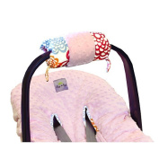 Itzy Ritzy RW8067 Ritzy Wrap Infant Car Seat Handle Cushion - Fresh Bloom