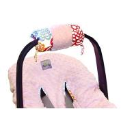 Itzy Ritzy RW8067 Ritzy Wrap Infant Car Seat Handle Cushion - Fresh Bloom