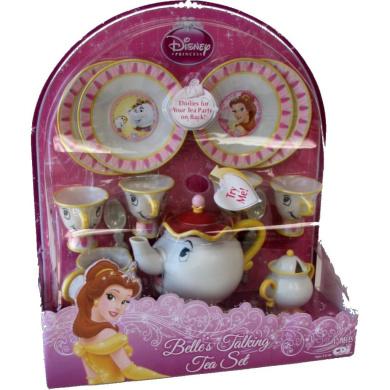 Disney Beauty And The Beast Mrs Potts Talking Tea Set