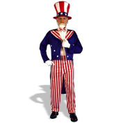 Uncle Sam Halloween Costume - Adult One Size