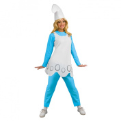 The Smurfs Smurfette Halloween Costume - Adult Standard One Size
