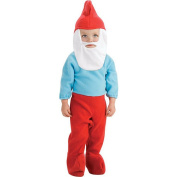 The Smurfs - Papa Smurf Halloween Costume - Infant Size 6-12 Months
