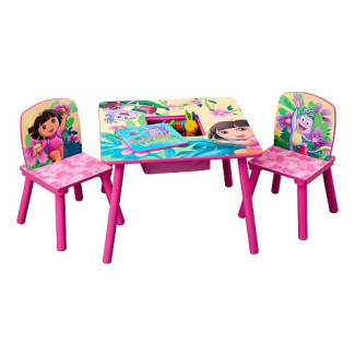 Dora The Explorer Table And Chair Set By Delta Shop