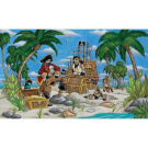 Pirates 2.4m x 4m Wall Mural