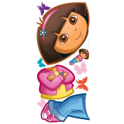 RoomMates Dora Peel & Stick Giant Wall Decal