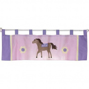JoJo Designs Pretty Pony Collection Window Valance