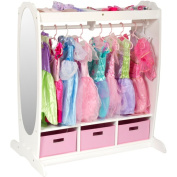Guidecraft Dress Up Storage - Espresso