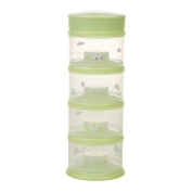 Innobaby Packin' smart Four Tier Travels Stack N Seal Food Storage System