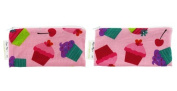 Itzy Ritzy MSWB8065 Snack Happens Mini Reusable Snack and Everything Bag - Cupcake Couture - 2 Pack