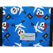 ReSnackIt Reusable Sandwich Size Bag - Pirate