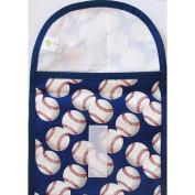 ReSnackIt Reusable Sandwich Size Bag - Baseball