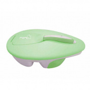 Momo Baby Travel Bowl and Spoon Set - Green