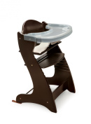 Badger Basket Embassy Wood High Chair - Espresso
