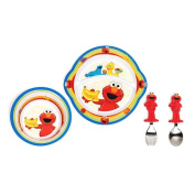 Sesame Street Toddler Dining Set, 4 Piece Set