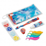 Spider-Man Dental Care Kit in Zip Pouch