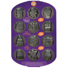 Mini Non-Stick Cookie Pan-Halloween 12 Cavity