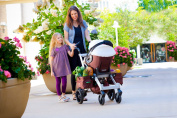 Orbit Baby G2 Stroller Side Storage Panniers - Mocha