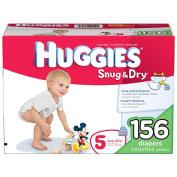 Huggies Snug & Dry Nappies Size 5 - 148Ct