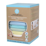 Charlie Banana 2-in-1 Reusable Nappy System Value Pack - Pastel