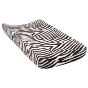 BabyShop Changing Pad Cover - Black & White Zebra