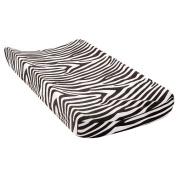 BabyShop Changing Pad Cover - Black & White Zebra