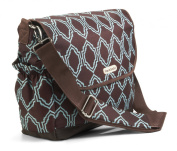 timi & leslie Messenger Nappy Bag - Sahara