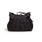Babymel Amanda Quilted Nappy Bag - Black